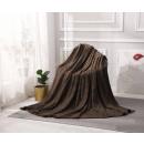 mayorista Casa y decoración: manta Diseño Microfibra 200x220 Marrón