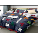 Bedding set flannel 200x220 3 pieces F-5322-