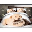 Set di biancheria da letto cotone 160x200 3 parti
