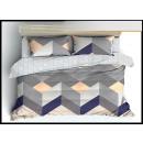 Bedding set coton 200x220 3 Parts C-3701 -