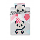 Pościel Bawełna 100x135 2 Częsći Panda