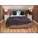 wholesale Cushions & Blankets: blancket Plaid Fleece 150x200 Navy