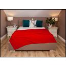 wholesale Cushions & Blankets: blancket Plaid Fleece 150x200 Red