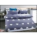 Set biancheria da letto in cotone 160x200 3 pezzi