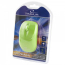wholesale Computer & Telecommunications: TITANUM WIRED MOUSE 3D OPT. USB AROWANA GREEN