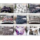 Bedding set coton 140x200 Mix of Designs
