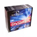 wholesale DVDs, Blue-rays & CDs: DVD-R TITANUM 4.7 GB X16 - SLIM 10