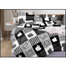 Bedding set coton 140x200 2 pieces A-5158 -