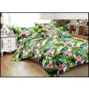 Juego de cama algodón 160x200 3 partes A-3040 -