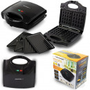 wholesale Knife Sets: Esperanza Universal toaster 3in1 Portabella 700W