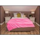 wholesale Cushions & Blankets: blancket Plaid Fleece 150x200 Pink
