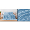 Großhandel Sonstige: Haarige Mikrofaser 160x200 Blauer Himmel