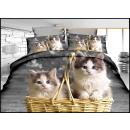 Bedding set coton 160x200 3 pieces A-3736 -