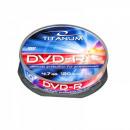 DVD-R TITANUM 4.7 GB X16 - CAKE BOX 10