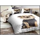 Großhandel Bettwäsche & Matratzen: Bettwäsche-Set Baumwolle 160x200 3 Teile A-4917