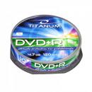 wholesale DVDs, Blue-rays & CDs: DVD + R TITANUM 4.7 GB X16 - CAKE BOX 10