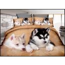 ingrosso Home & Living: Set biancheria da letto cotone 160x200 3 parti A-3