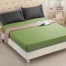 wholesale Bedlinen & Mattresses: Fitted sheet 180x200 coton JasnyZielony
