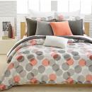 Juego de cama algodón Corteza 200x220 Patrón 4
