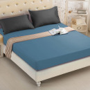 Fitted sheet 180x200 coton Blue