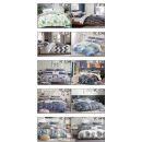 Bedding set coton 200x220 Mix Patterns