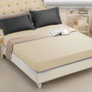 Fitted sheet 160x200 coton Creamy