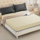 wholesale Home & Living: Fitted sheet 180x200 coton ecru