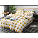Bedding set coton 160x200 3 Parts A-3423 -