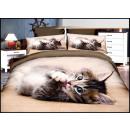 mayorista Casa y decoración: Juego de cama algodón 160x200 3 partes A-3744-