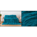 Großhandel Sonstige: Tagesdecke Wicker Mikrofaser 160x200 Blau