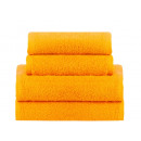 towel terry coton 50x100 Orange Popsicale