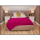 wholesale Cushions & Blankets: blancket Plaid Fleece 150x200 Amaranth