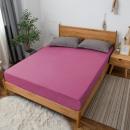 Großhandel Home & Living: Blatt Jersey 90x200 Amaranth
