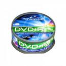 wholesale DVDs, Blue-rays & CDs: DVD + R TITANUM 4.7 GB X16 - CAKE BOX 25