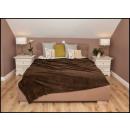 wholesale Cushions & Blankets: blancket Plaid Polar 150x200 Brown