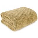 wholesale Cushions & Blankets: blancket Ricky Microfiber 150x200 Honey