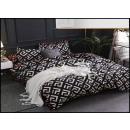 Set biancheria da letto cotone 160x200 3 pezzi C-3
