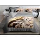 Bedding set coton 160x200 3 parts A-4914