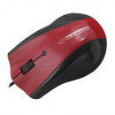 WIRED MOUSE 3D OPT. USB INCLUDED WITH FLAT GEL