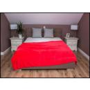 wholesale Cushions & Blankets: blancket Plaid 150x200 Magenta