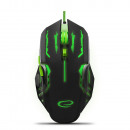 ESPERANZA WIRED MOUSE GAMING LED 6D OPT. USB APA