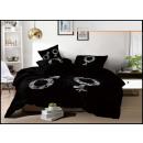 Juego de cama algodón 160x200 3 partes A-3568 -
