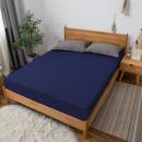 mayorista Casa y decoración: Sábana Jersey 80x190 Azul marino
