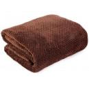 mayorista Casa y decoración: manta Microfibra Ricky 150x200 Marrón