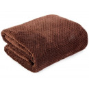 wholesale Cushions & Blankets: blancket Ricky Microfiber 150x200 Brown