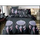 grossiste Maison et habitat: Parure de lit coton 160x200 4 pièces A-5755