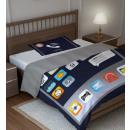 Set di biancheria da letto cotone 160x200 giovani
