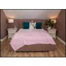 wholesale Cushions & Blankets: blancket Plaid Fleece 150x200 Bright Pink
