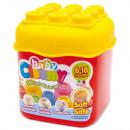 wholesale Blocks & Construction: Clemmy soft  building blocks box - Clementoni