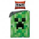 Zestaw pościeli Minecraft - Creeper TNT